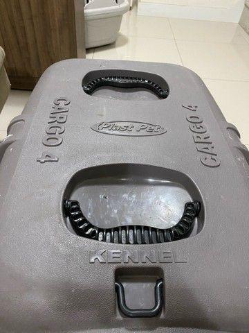 caixa de transporte de animais kennel cargo 4 plast pet  - Foto 3