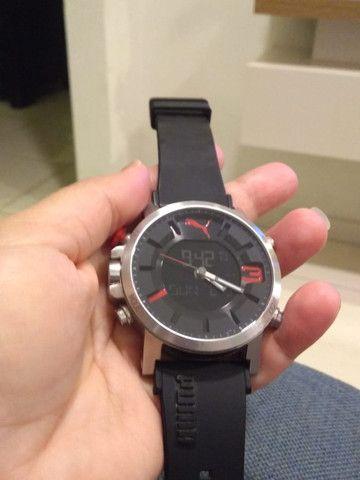 Relógio Puma original anadigi supernovo (baixei pra vender logo) - Foto 2