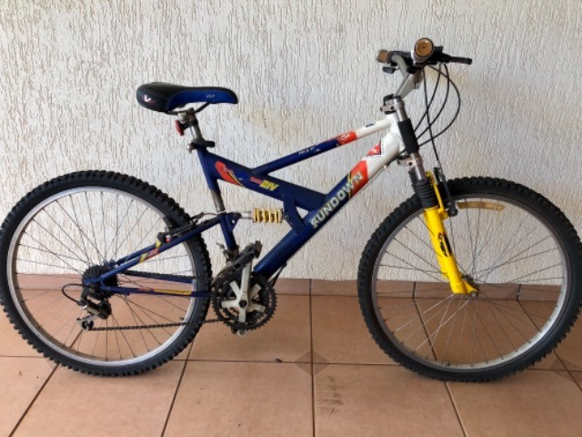 Bicicleta - cidade de Bandeirantes PR