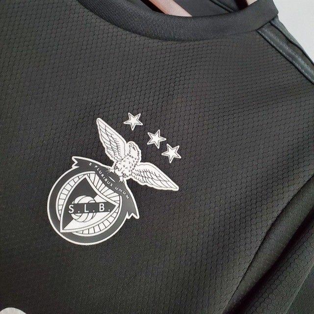 Benfica Portugal 2021 Lançamento Frete Grátis - Foto 6