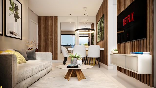 Apartamento com 2 quartos   1 suíte   Varanda Gourmet   2 vagas   Bairro Jardim Finotti
