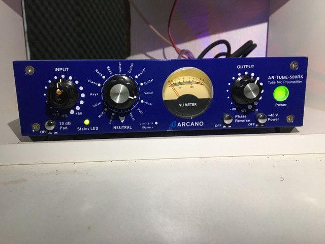 Pré-Amp Valvulado Arcano AR Tube