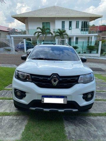 Renault Kwid Outsider 1,0 12V 2020 top de linha.  - Foto 2