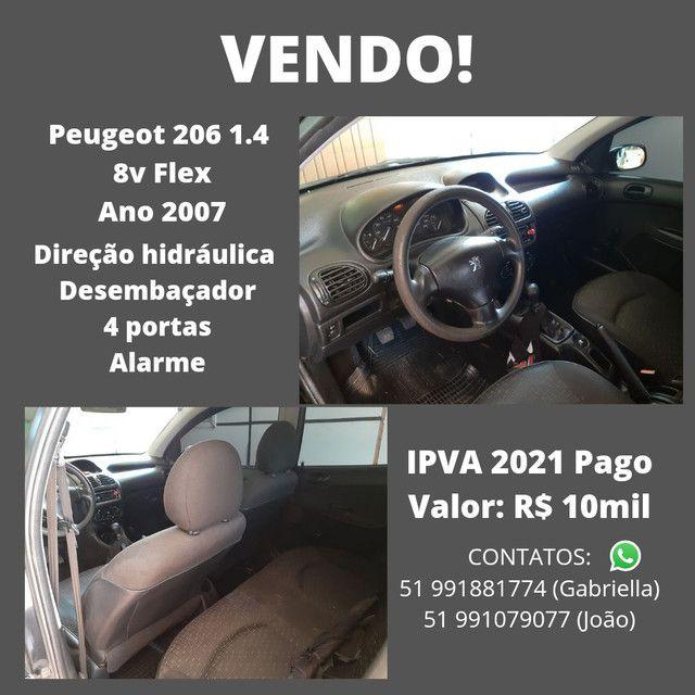Peugeot 206 2007 - Foto 4