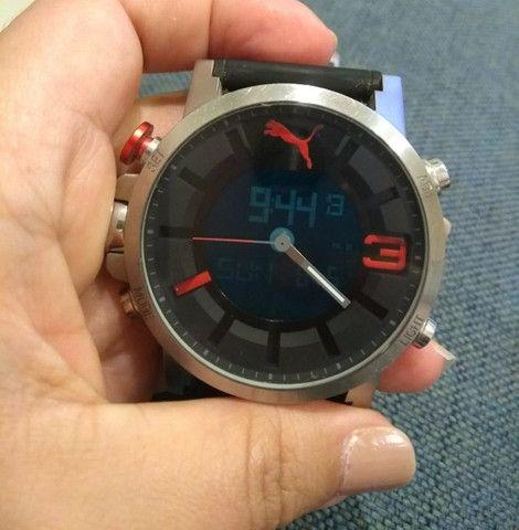 Relógio Puma original anadigi supernovo (baixei pra vender logo) - Foto 5