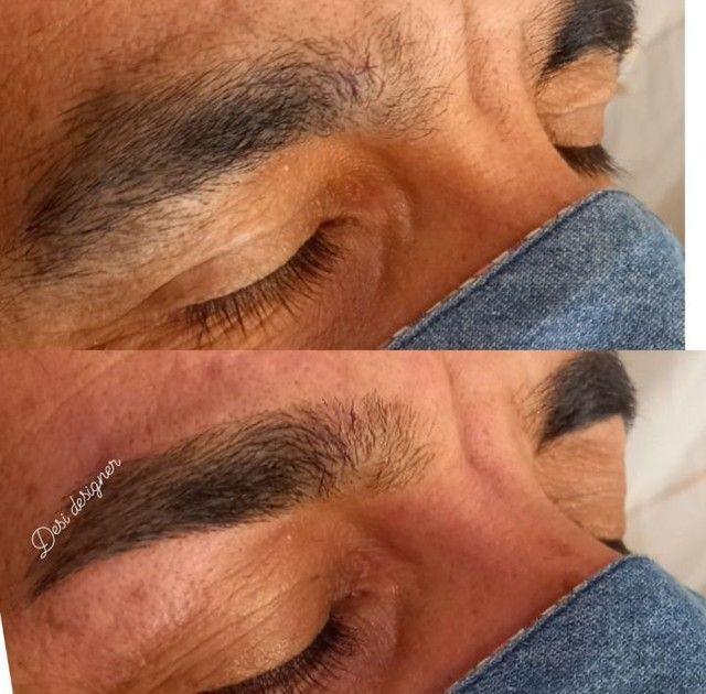 Designer de sobrancelhas Alongamento de cílios e makeup - Foto 3
