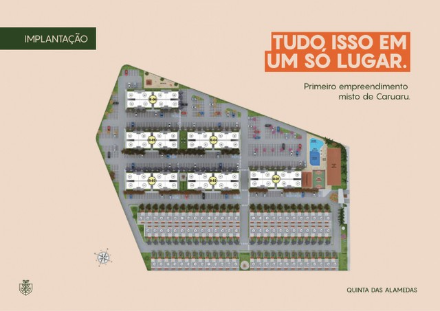 Casas 3 quartos no Luiz Gonzaga - Quintas das Alamedas - André Luis - Foto 3
