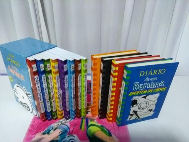 Box coleção diário de um banana 12 livros
