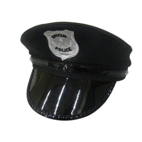 Quepe Chapeu Policial Carnaval Boina Cosplay Fantasia Festa ... 490ba2e5e16
