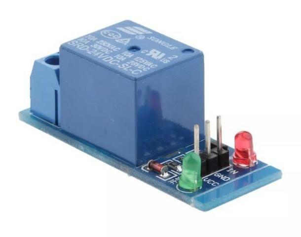 COD-AM29 Modulo Rele 1 Canal 24v Automção Arduino Pic Raspberry Pic