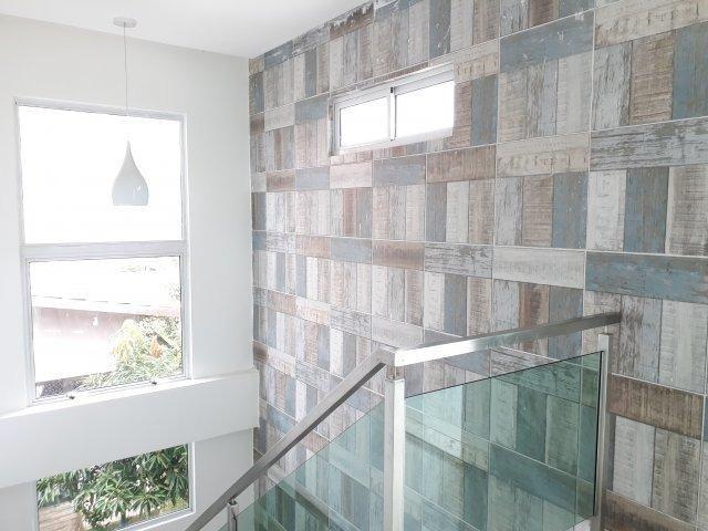 Casa moderna com área de lazer privativa em condomínio fechado   Oficial Aldeia Imóveis - Foto 8