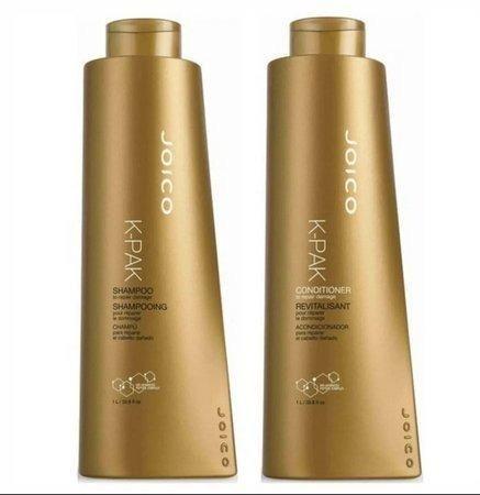 Joico Kit K-pak Damage - Shampoo + Codicionador 1litro