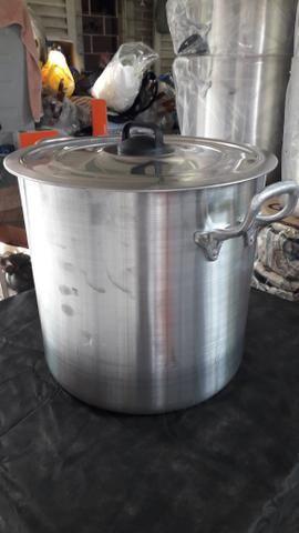 Caldeirão de alumínio pra restaurantes - Foto 4