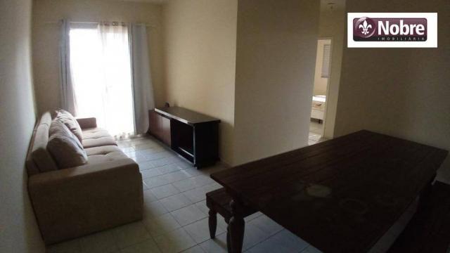 Apartamento para alugar, 68 m² por r$ 1.050,00/mês - plano diretor norte - palmas/to - Foto 12