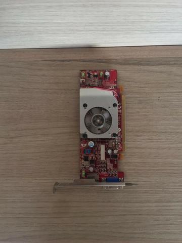 Placa De Vídeo Ati Radeon Hd3470 - 256 Mb
