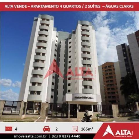 Apartamento à venda com 4 dormitórios em Águas claras, Águas claras cod:220