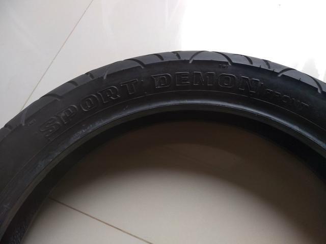Pneu Pirelli Sport Demon 110/80-17 - Foto 5