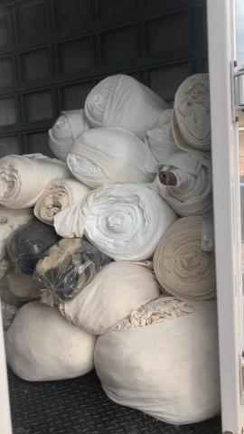 Panos de limpeza brancos 100% algodão - Foto 2