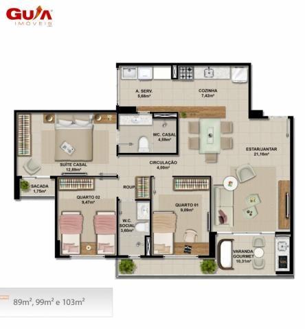 Apartamentos novos com 03 quartos a venda no cambeba - Foto 6