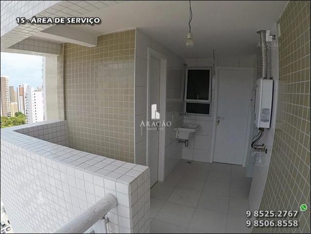 Apartamento à venda, 124 m² por r$ 1.150.000,00 - meireles - fortaleza/ce - Foto 16