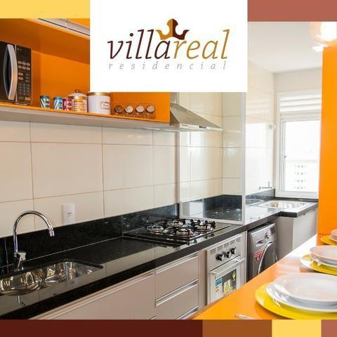 VillaReall Residencial Aptos 2 Dorms 58m2 2 Dorms 1 Vaga C/Varanda Lazer Completo - Foto 8