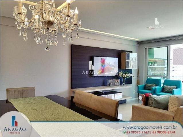 Apartamento à venda, 106 m² por r$ 850.000,00 - aldeota - fortaleza/ce - Foto 2
