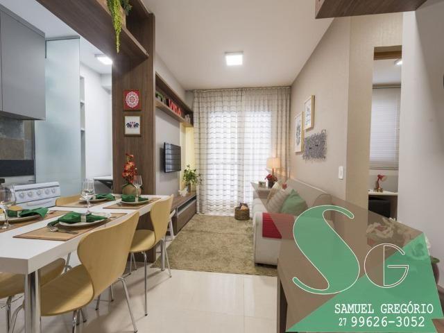 SAM - 04 - Condomínio Via Sol - 48m² - Entrada em até 48x - Serra, ES - Foto 4