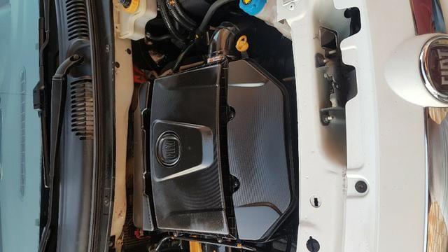 Vende-se Fiat Palio Essence Branco Modelo 2013 - Foto 9