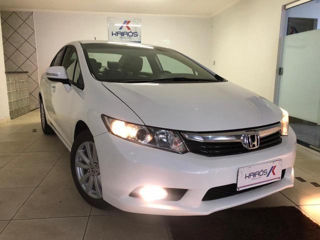 Honda-Civic LXR 2.0 Automático Branco 2014/14