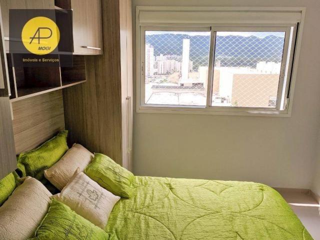 Apartamento com 1 dormitório para alugar, 46 m² - Centro Cívico - Mogi das Cruzes/SP - Foto 19