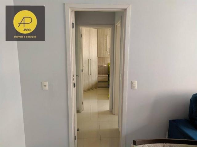 Apartamento com 1 dormitório para alugar, 46 m² - Centro Cívico - Mogi das Cruzes/SP - Foto 12