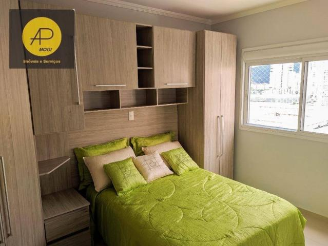 Apartamento com 1 dormitório para alugar, 46 m² - Centro Cívico - Mogi das Cruzes/SP - Foto 16