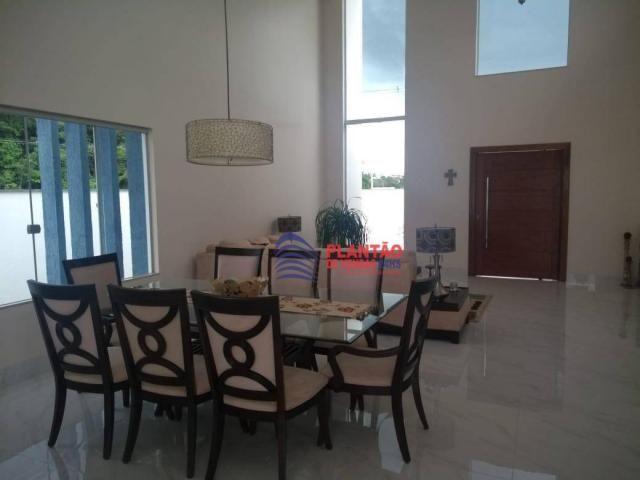 Linda casa linear com 4 quartos alto padrão no Viverde fase 2 - Foto 2