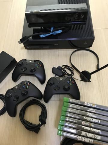 Xbox one 500gb pouco uso COMPLETÍSSIMO com 8 jogos. Parcela em 12x no cartão - Foto 2