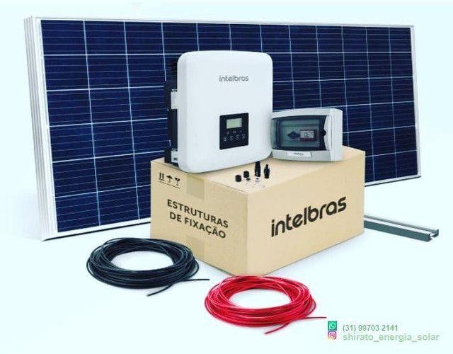 Energia solar, Módulos fotovoltaicos Intelbras