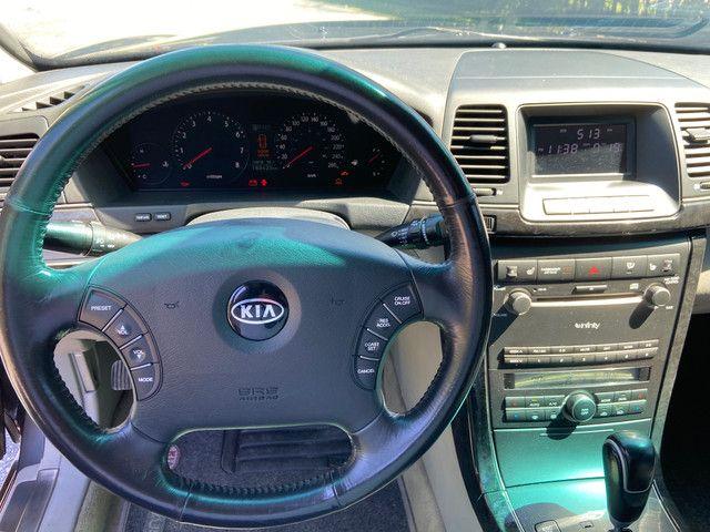 Kia Opirus 3.5 V6 Top Completo Blindado Imbra - Foto 6
