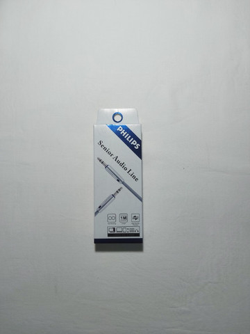 Cabo Aúdio Philips 3.5mm x 3.5mm