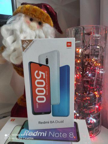 Revolução! Redmi 8A cameras duplas da Xiaomi.. NOVO LACRADO COM GARANTIA e entrega hj