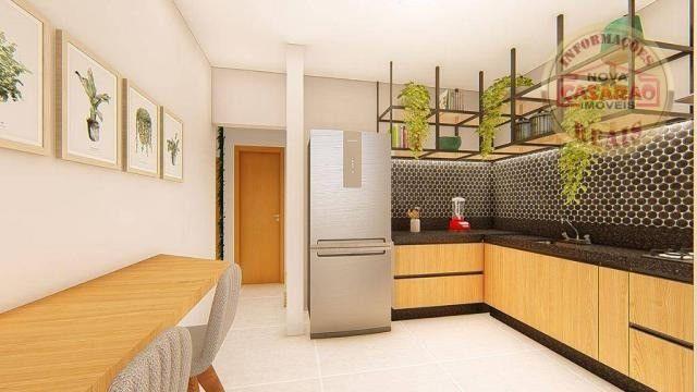 Apartamento com 2 dormitórios à venda, R$ 458.350,00 - Canto do Forte - Praia Grande - Foto 7