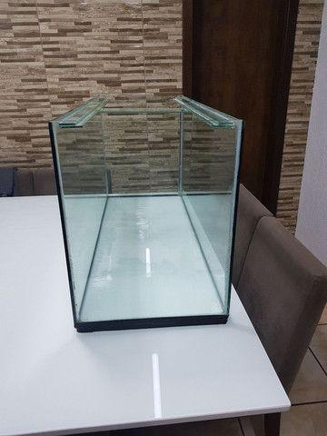 Vendo aquario 200 litros completo
