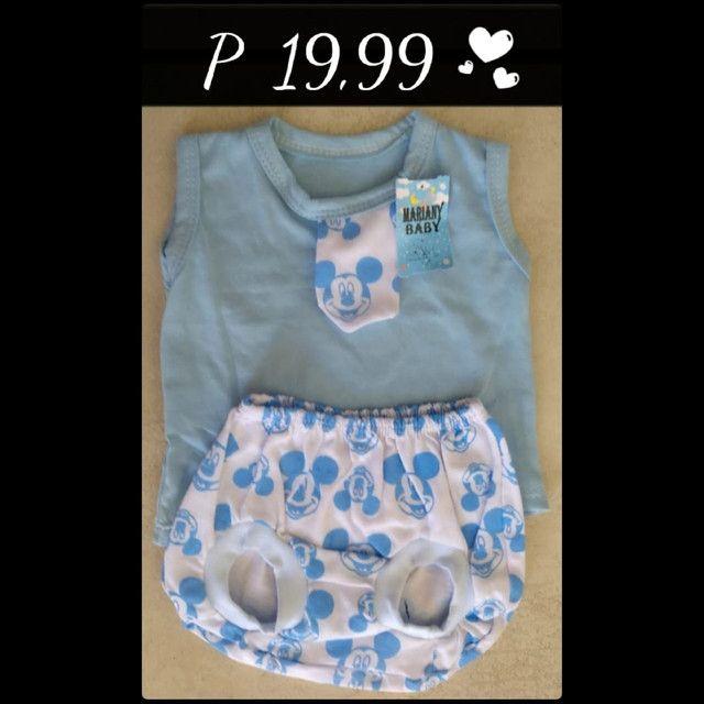 Roupas infantis 19,99