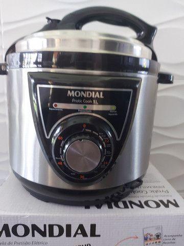 Panela Elétrica de Pressão Mondial 5l ,Nova , 127 volts  - Foto 3