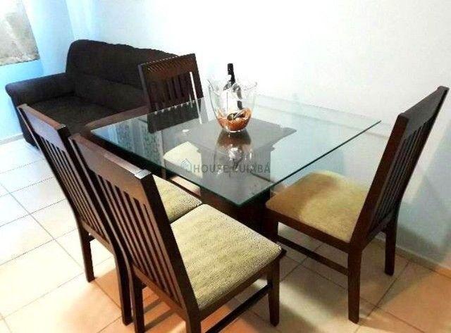 Excelente apartamento mobiliado no condomínio Spazio Cristalli - Foto 3