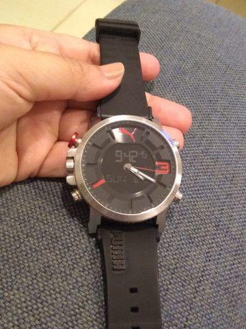 Relógio Puma original anadigi supernovo (baixei pra vender logo)