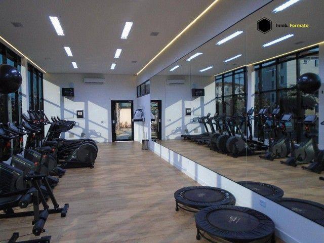 Apartamento com 2 dormitórios para alugar, 55 m² por R$ 1.100,00/mês - Rita Vieira - Campo - Foto 18