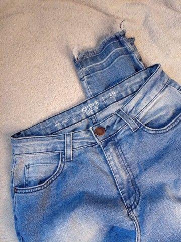 Calça Jeans - cintura alta - Foto 2