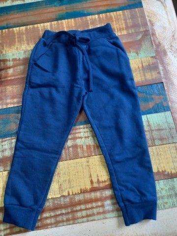 03 calças infantil - tamanho 03 anos - Foto 6
