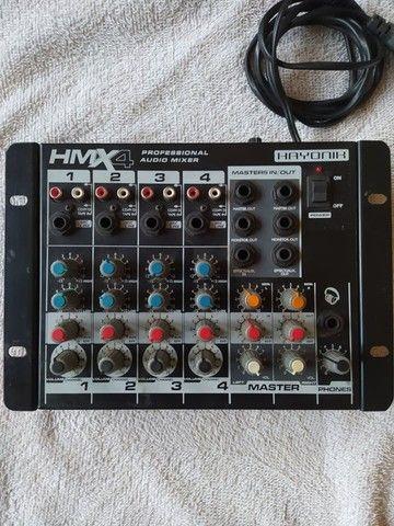 Mesa de som Hayonik 4 canais HMX-4