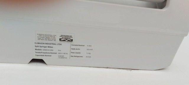 Ar condicionado Springer midea 12.000 bts