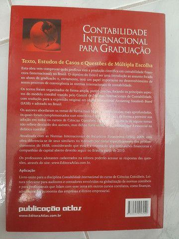 Livro contabilidade internacional para graduação  - Foto 2
